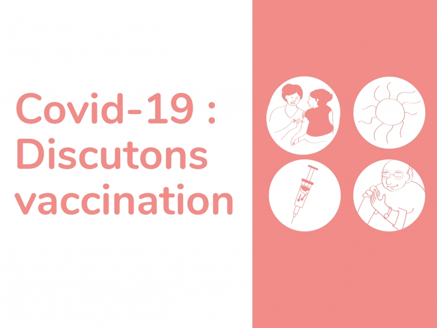 Covid-19 : Discutons vaccination (Guide d'animation)
